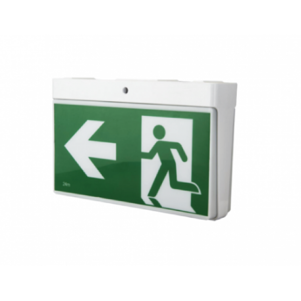 LED Emergency Exit Sign-Standard Surface Mount